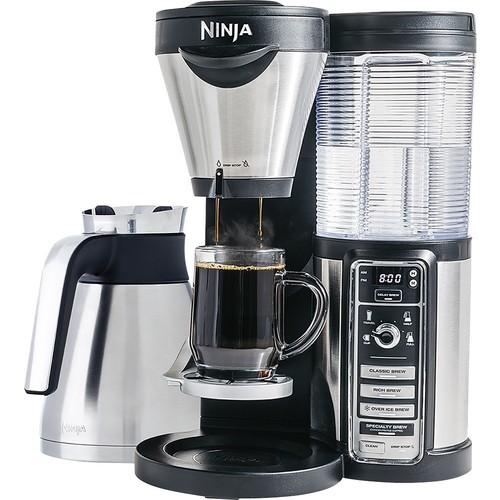 Ninja - Coffee Bar Brewer with Thermal Carafe - Stainless Steel/Black $79.99@bestbuy