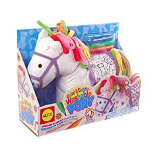 "ALEX Toys Craft Color and Cuddle Washable Pony - Amazon - $8, supposed ""list price"" is $18.50"