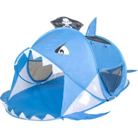 Kid`s Pop Up Shark Tent 6 bux at Walmart $6