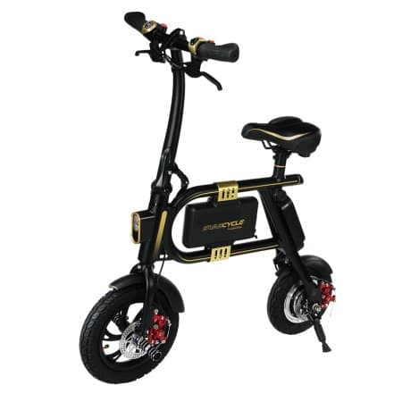SWAGTRON SwagCycle E-Bike – Folding Electric Bicycle with 10 Mile Range, Collapsible Frame, and Handlebar Display (Black) $99 @Walmart YMMV