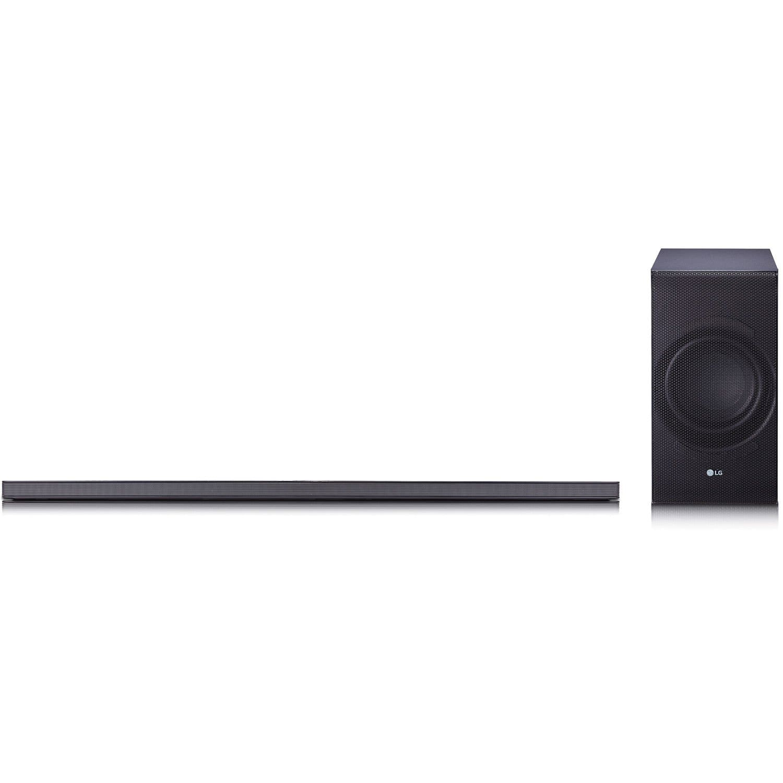 LG SJ8 300W 4.1-Channel Hi-Fi Bluetooth Audio Sound Bar with Wireless Subwoofer $250 AC + FS