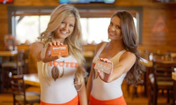$30 eGift Card To Hooters $15