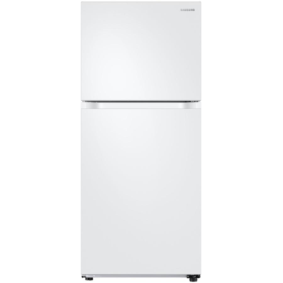 SAMSUNG 18 cu. ft. Capacity Top Freezer Refrigerator with FlexZone $375 w/ Unidays 50% off