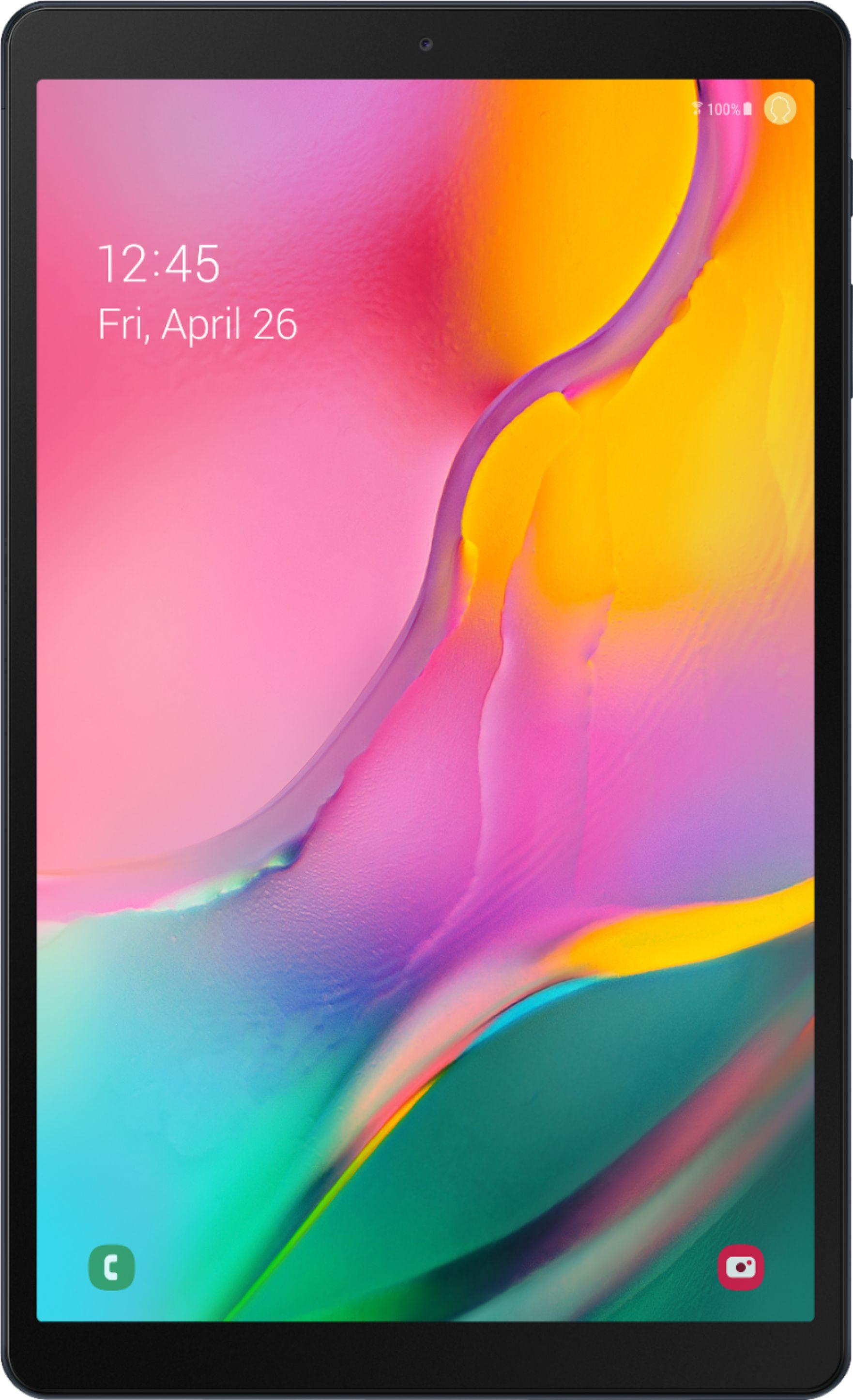 """Samsung Galaxy Tab A (2019) 10.1"""" 128GB Black SM-T510NZKGXAR - Best Buy $179.99"""