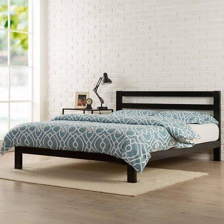 "Modern Studio 10"" Metal Platform Bed with Headboard $84.16 @Walmart.w/ FS"