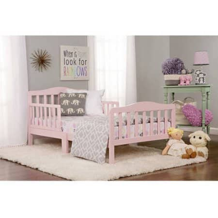 Dream On Me Classic Toddler Bed Pink $33.33 w/In-Store PU discount @ Walmart