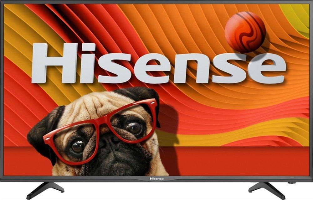 "Hisense - 39"" Class (38.5"" Diag.) - LED - 1080p - Smart - HDTV - Black Gloss $299.99 @Bestbuy w/ FS."