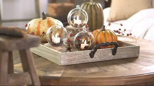 Luminara S/3 Blown Glass Ornaments with Flameless Tealight Candle $41.2  @qvc.com