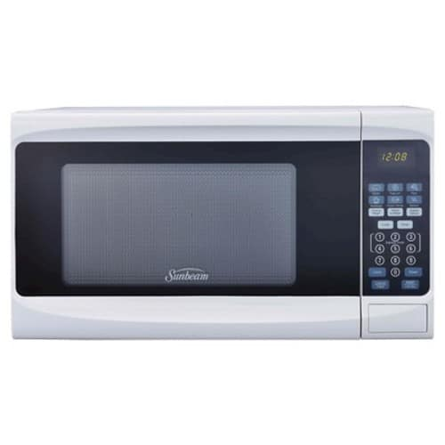 Sunbeam 0.7cu. Ft. 700 Watt Digital Microwave Oven White - SGS10701 $34.99 @ target.