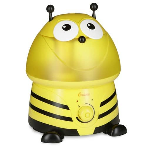 Crane - Adorable Ultrasonic Cool Mist Humidifier - Yellow  $27.99 @Bestbuy