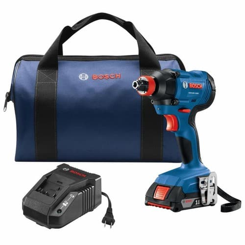 Bosch Freak 18-Volt 1/4-in; 1/2-in Cordless Impact Driver (1-Battery Included) $89