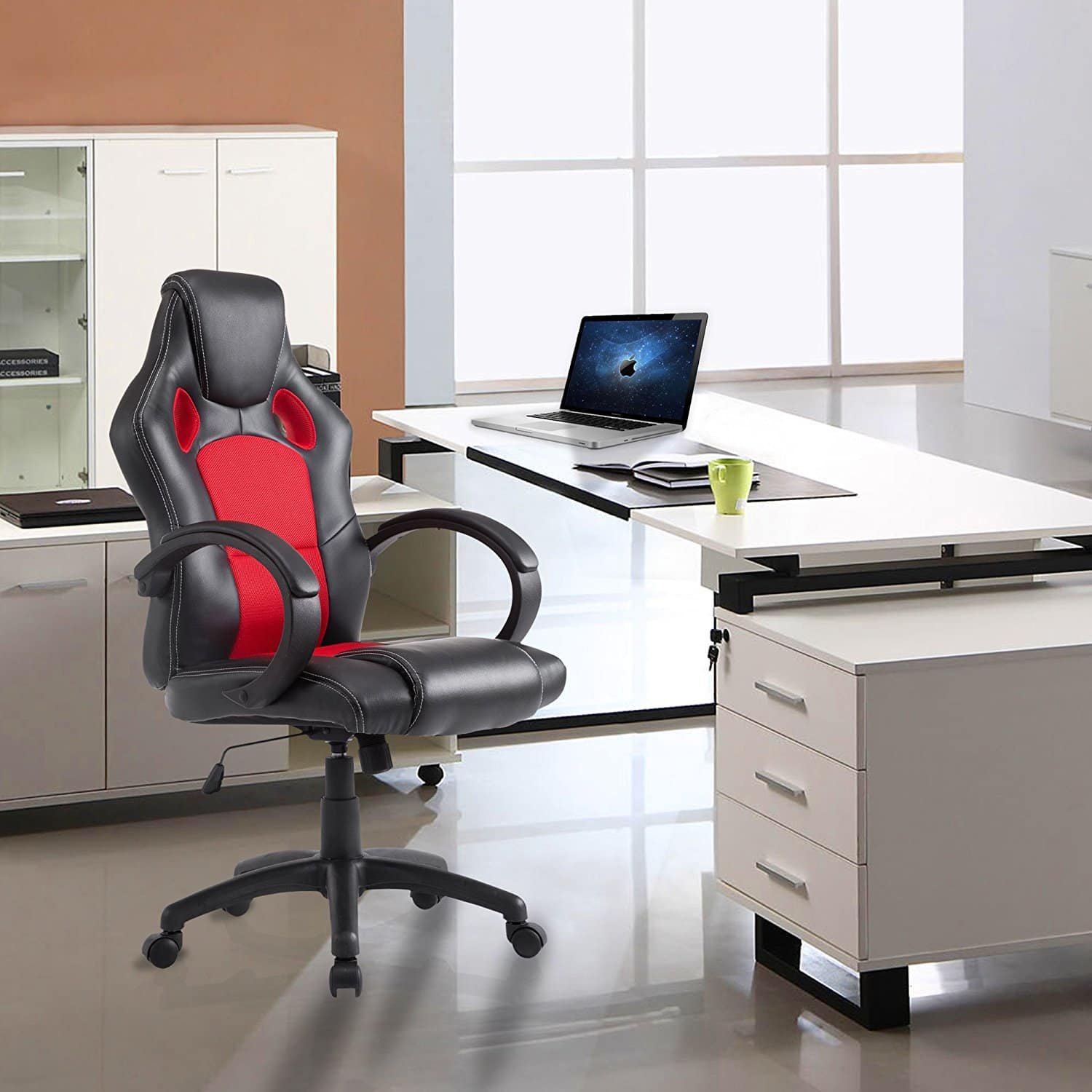 acepro office desk ergonomic racing gaming swivel adjustable chair