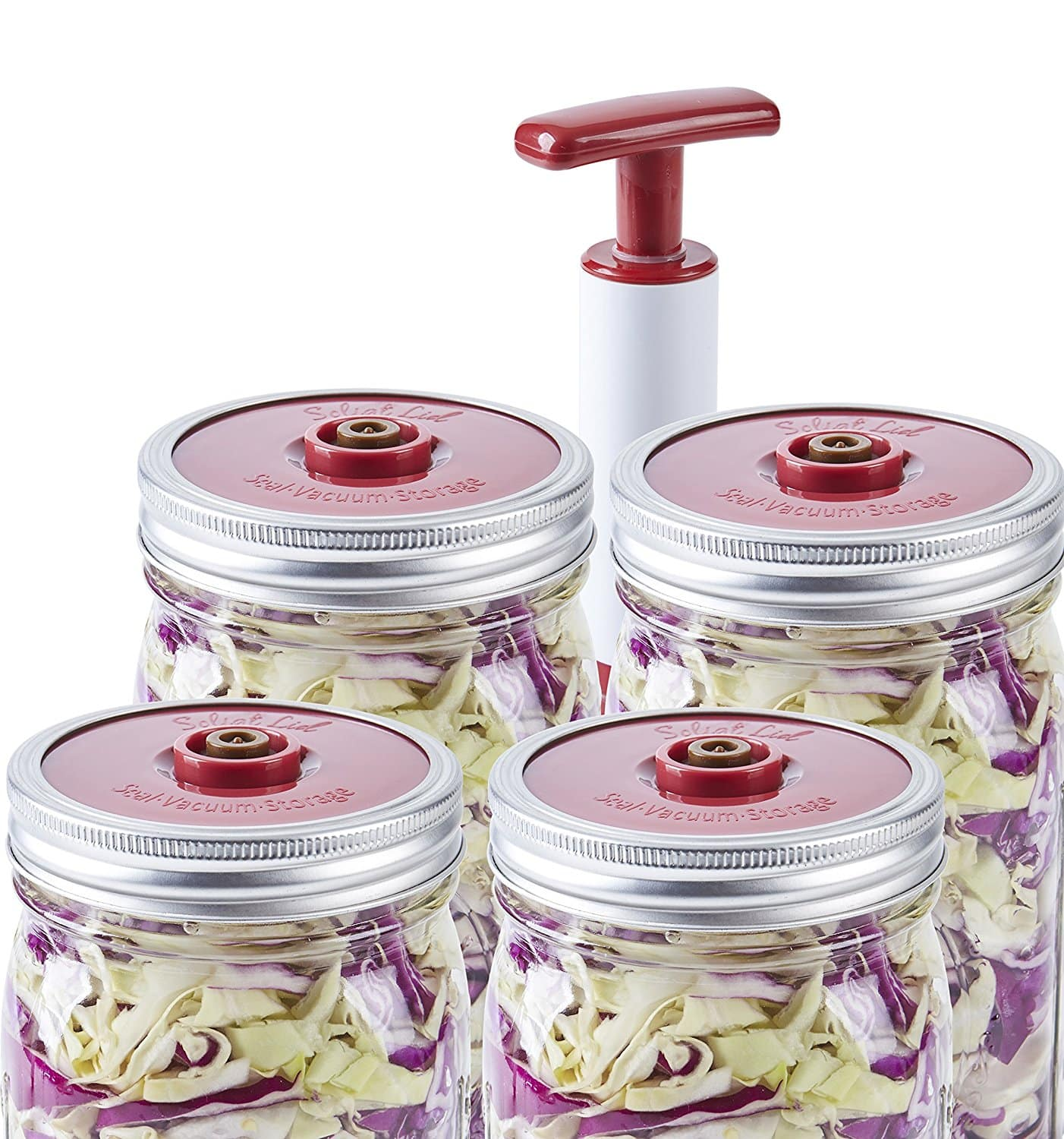 4-Pack of Fermentation Lids with Extractor Pump for $8.76 @ Amazon