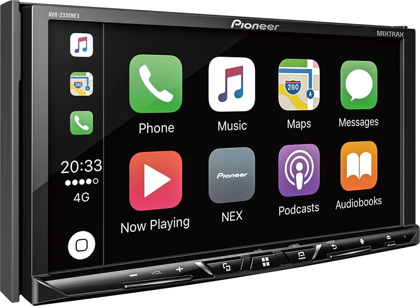 Pioneer - Android Auto/Apple CarPlay™ - Built-in Bluetooth - In-Dash