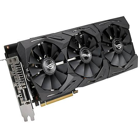 ASUS ROG Strix Radeon RX 580 O8G Gaming OC Edition $300 at officedepot.com