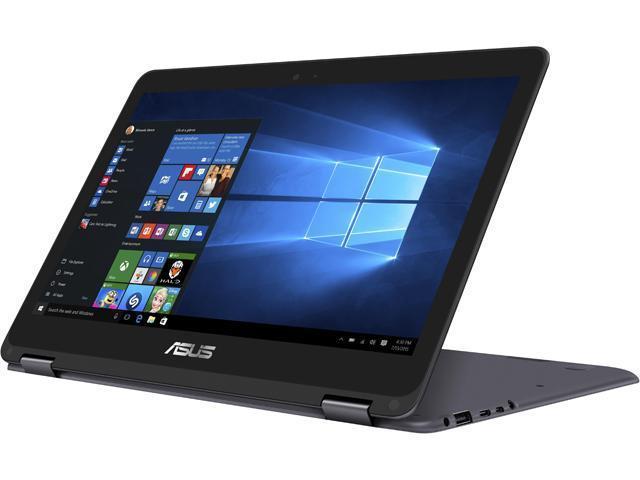 ASUS Zenbook Flip UX360CA-AH51T 2-in-1 Laptop (i5-7Y54 8GB 512GB SSD 1080p Touchscreen) $610