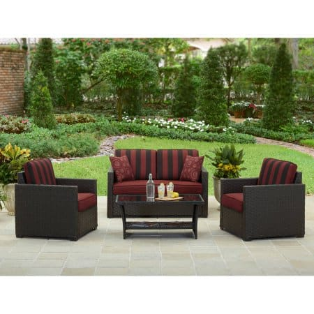 Better Homes and Gardens 4-Piece Patio Set $369 + Free shipping