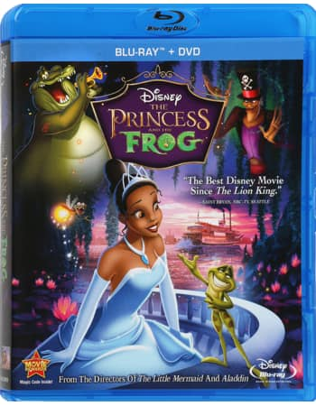 Disney Movie Rewards DMA: Princess And The Frog (Blu-ray+DVD) 1325 Points + Other New Titles From 750 Pts.