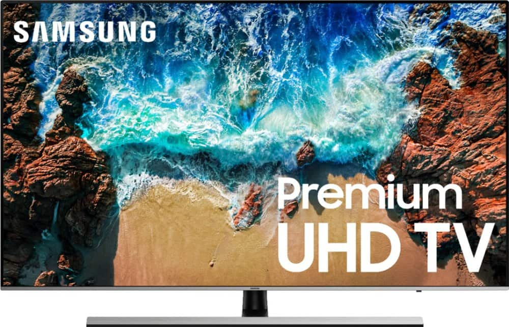 Samsung UN49NU8000 4K UHD Smart TV with HDR on clearance sale for $524.99 at BestBuy $525