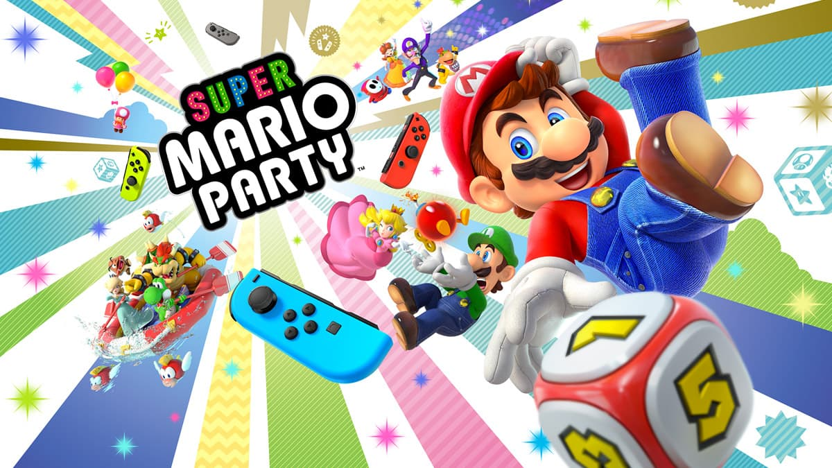 Super Mario Party Nintendo Switch Video Game DIGITAL version at Target and Amazon $40