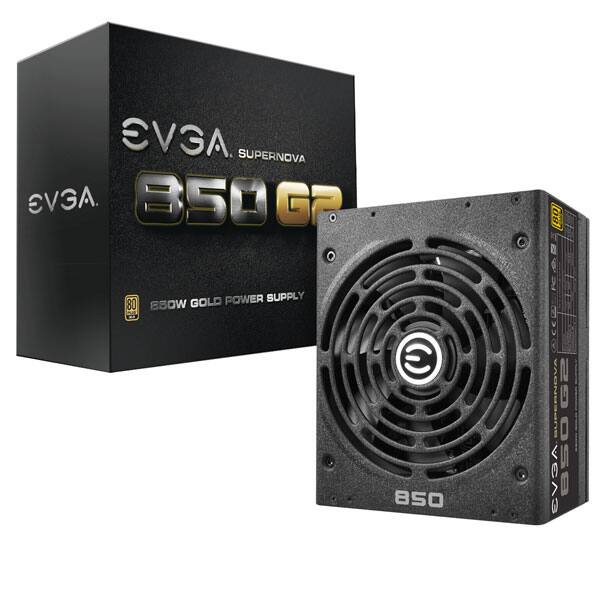 EVGA SuperNOVA 850 G2, 80+ GOLD 850W $89.99 + Free shipping