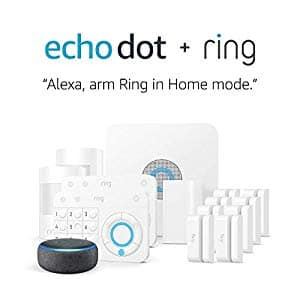 Amazon: Ring Alarm 14 Piece Kit + Echo Dot (3rd Gen) for $245. Free Shipping.