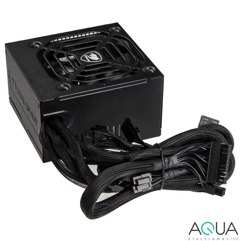 COUGAR VTX500 ALL BLACK CABLES Power Supply $30AR $29.99