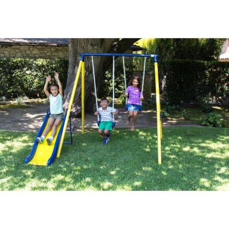 Sportspower Power Play Time Metal Swing Set $51.57 @ Walmart w/FS