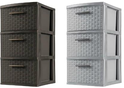 Sterilite 3 Drawer Medium Weave Tower $11.39 @ Target.com