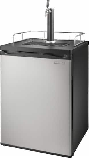 Insignia 5.6 Cu. Ft. 1-Tap Beverage Cooler Kegerator - Stainless Steel $299.99 + Free shipping