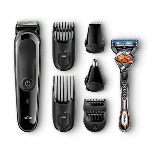 Braun Multi Grooming Kit MGK3040 – 7-in-1 Hair / Beard Trimmer for Men + Gillette Body Razor @ $27.9
