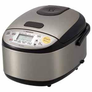 Zojirushi NS-LGC05XB 3-cup rice cooker (latest model) for $99.99 at Frys with promo code