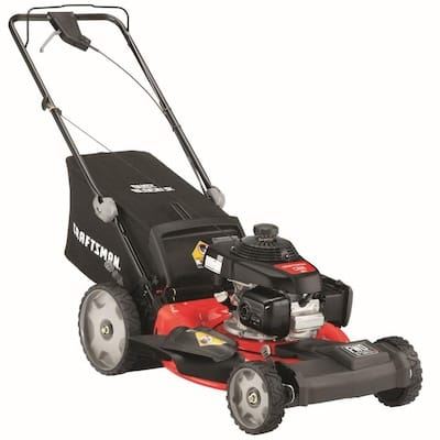CRAFTSMAN M250 160-cc 21-in Self-Propelled Gas Push Lawn Mower with Honda Engine $299
