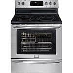 "Best Buy: Frigidaire - Gallery 30"" Self-Cleaning Freestanding Electric Convection Range - On Sale for $499.99, Regularly $999.99"