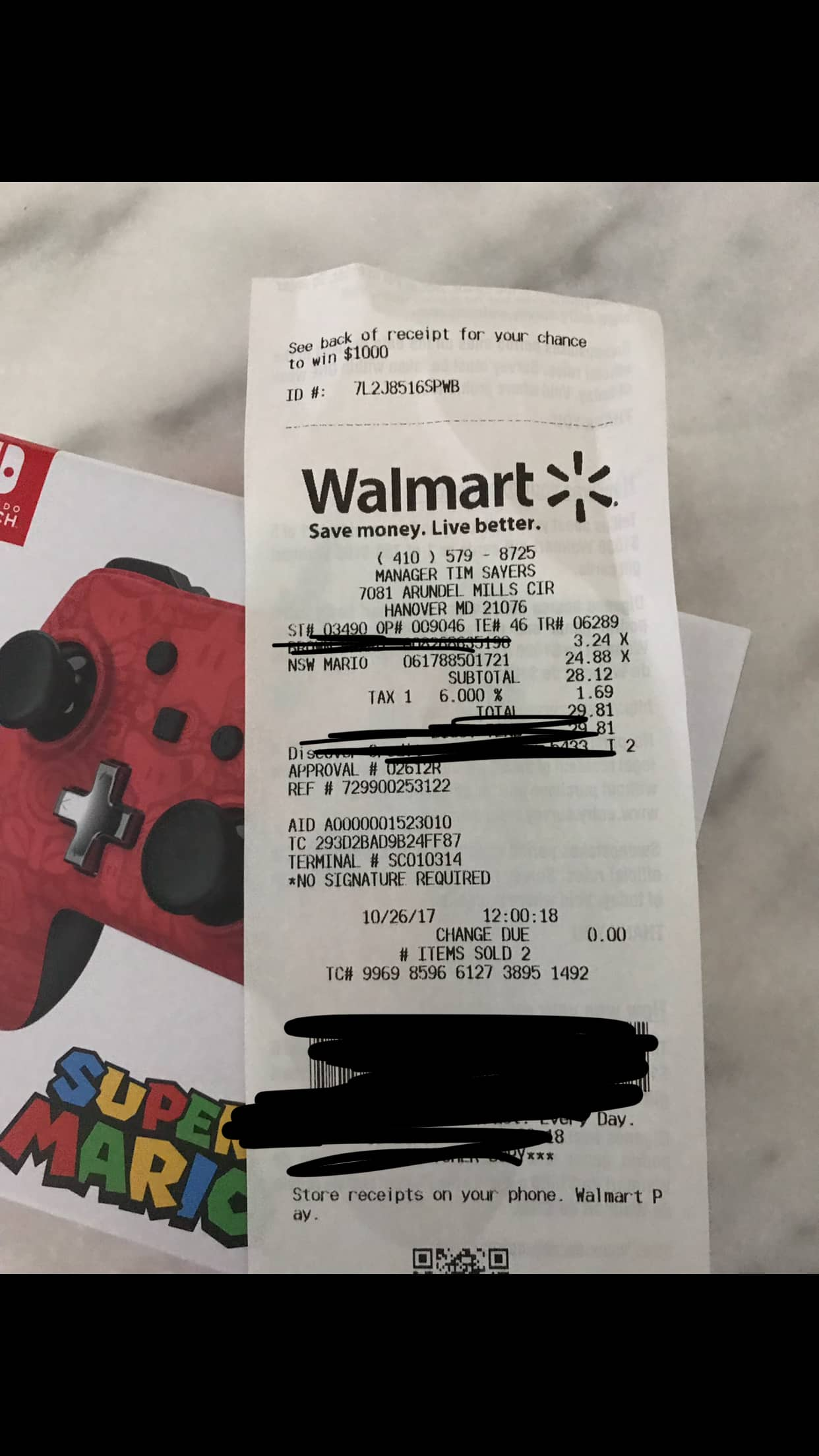PowerA Wired Nintendo Switch Controllers $25 Walmart B&M YMMV