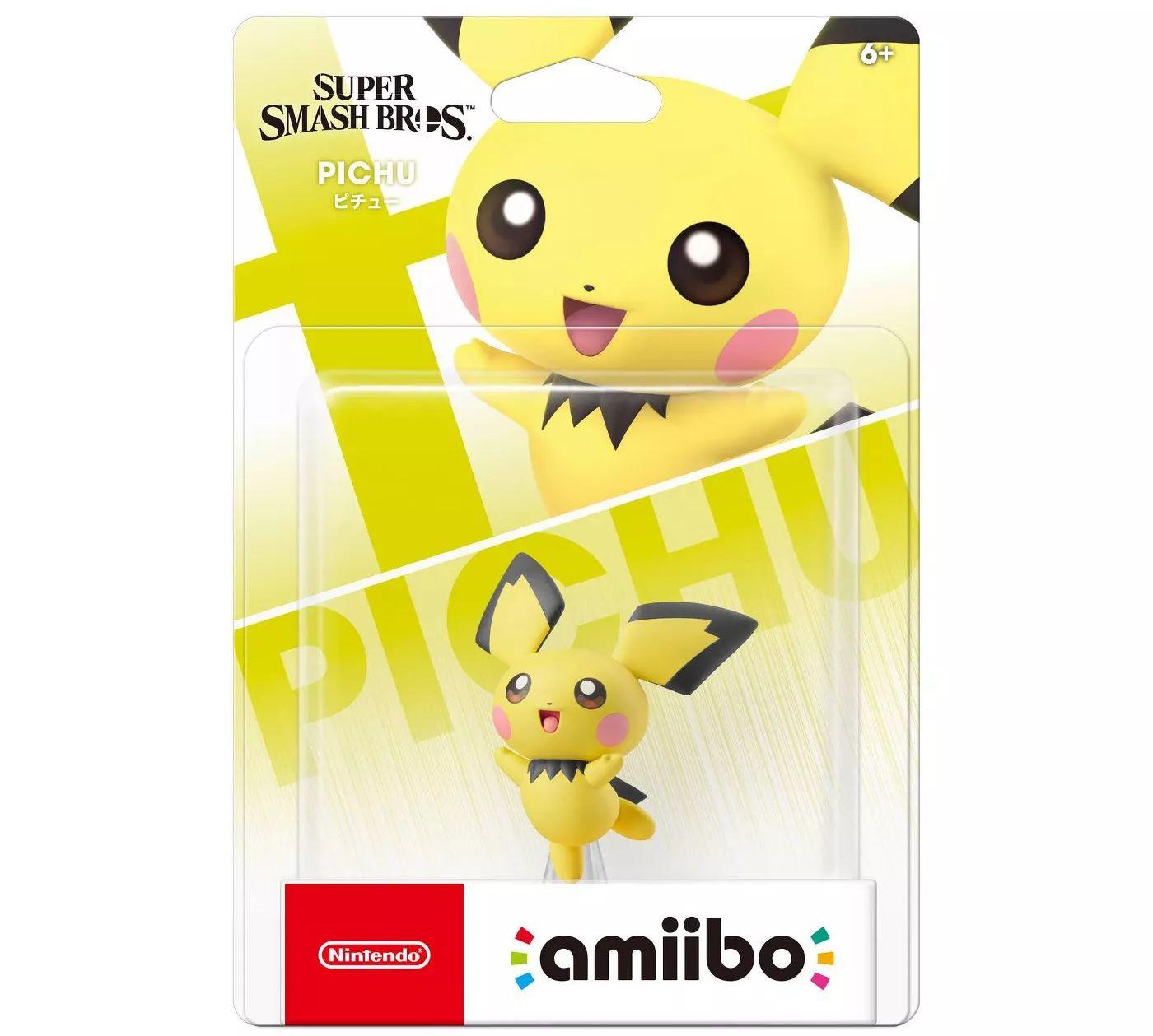 Pichu, Snake Amiibo at Target 12.99+shipping