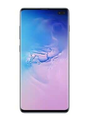 New Samsung Galaxy S10+ with 128GB Memory, Prism Blue (AT&T)  $475