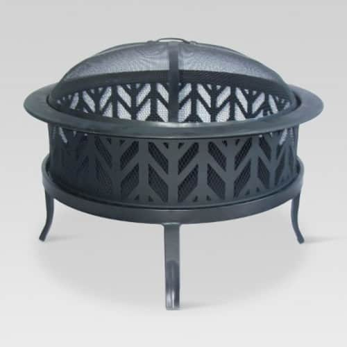 """Target REDcard Members - 26"""" Wood Burning Fire Pit $40 + Free Shipping"""