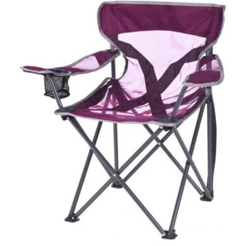 Ozark Trail Deluxe Youth Steel Frame Mesh Chair, Grey $5.88@walmart $5.85