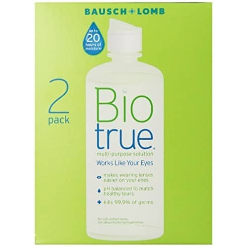 BioTrue Contact Lens Solution for Soft Contact Lenses, Multi-Purpose 10oz $11.29@Amazon