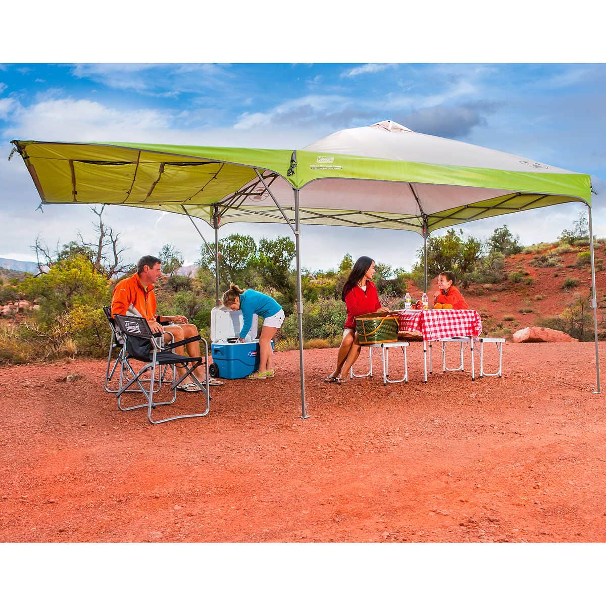 Coleman 10 x 10 Canopy with Swing Wall Costco $99