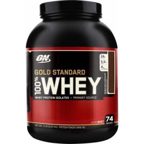 Optimum Nutriton Gold Standard Whey Protein - 10 lbs (2 x 5 lbs) $79.20