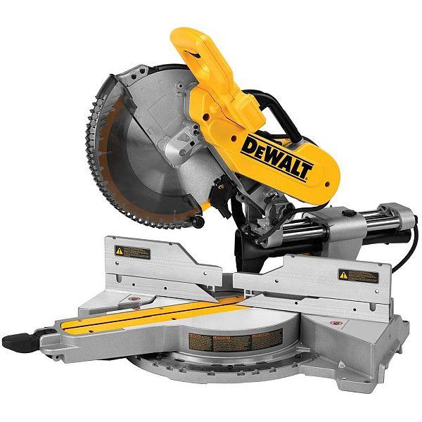 DEWALT DWS779 15 amp 12 in. Dual Bevel Sliding Compound Miter Saw $379 w/FS @ Home Depot