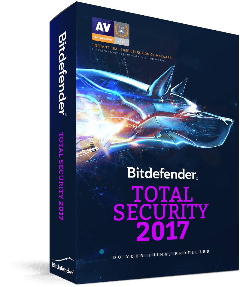 Bitdefender Total Security 2017: Free 90-Day Trial (5 Devices)