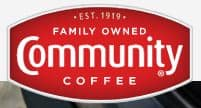 Community Coffee Buy one and get a second one for 50% off