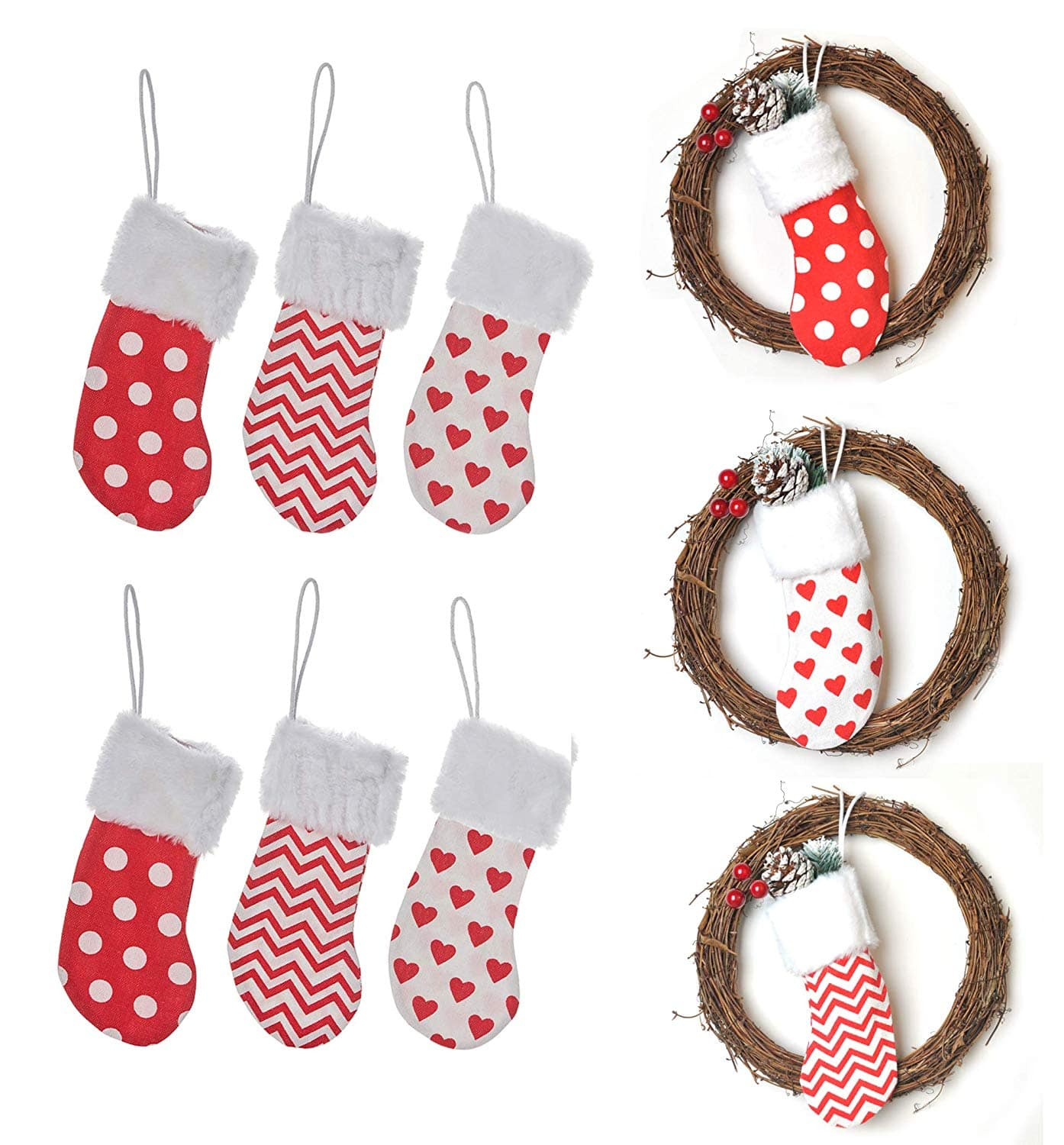 Cute Small and Big Christmas Stockings $6.99 - Slickdeals.net