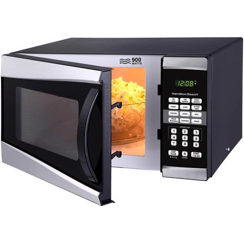Hamilton Beach 0.9 cu ft 900W Microwave $49 @Walmart.w/ FS