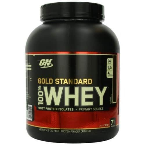 Optimum Nutrition Gold Standard 100% Whey Protein Powder, Coffee, 5lb $43.49