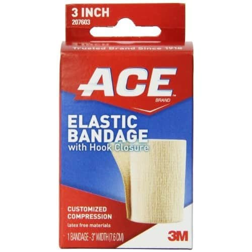 ACE Elastic Bandage with Hook Closure 3 Inch 1 ea ( Pack of 2) $6.06