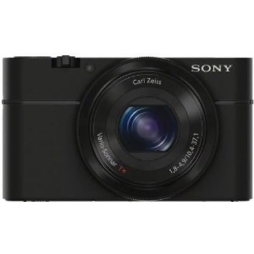 Sony DSC-RX100/B 20.2 MP Exmor CMOS Sensor Digital Camera with 3.6x Zoom [Black] $368